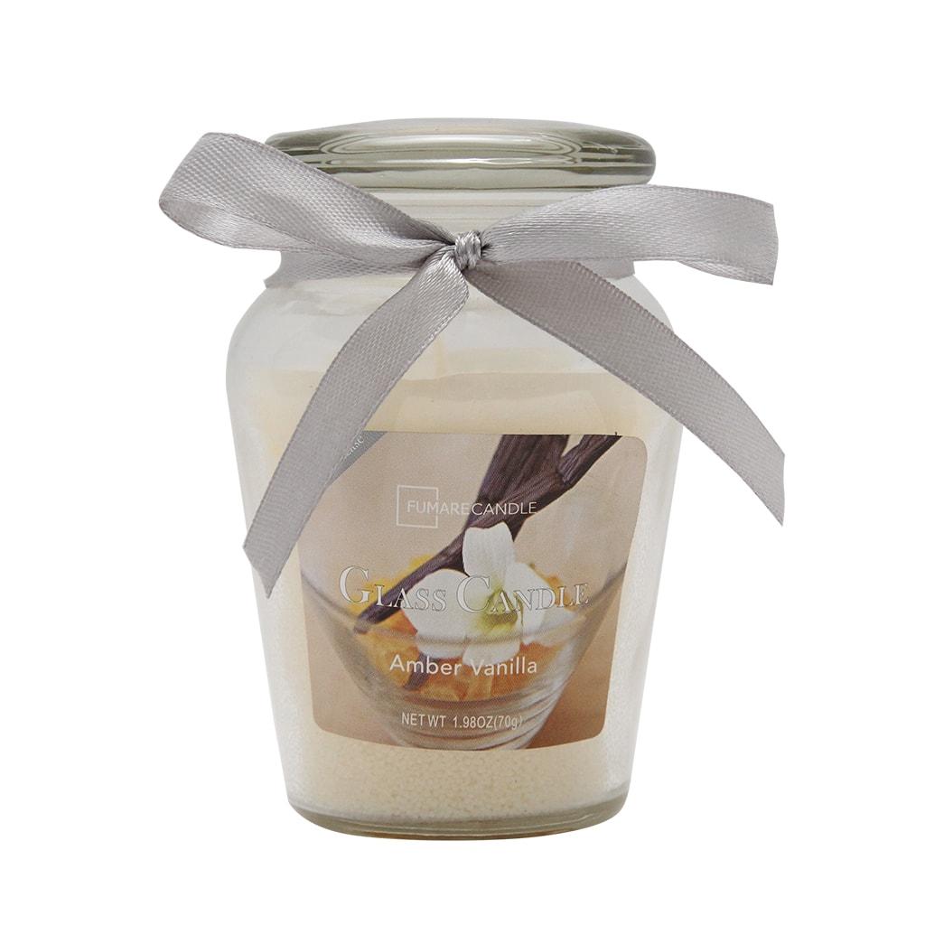Lumanare Parfumata Galbena In Borcan Din Sticla