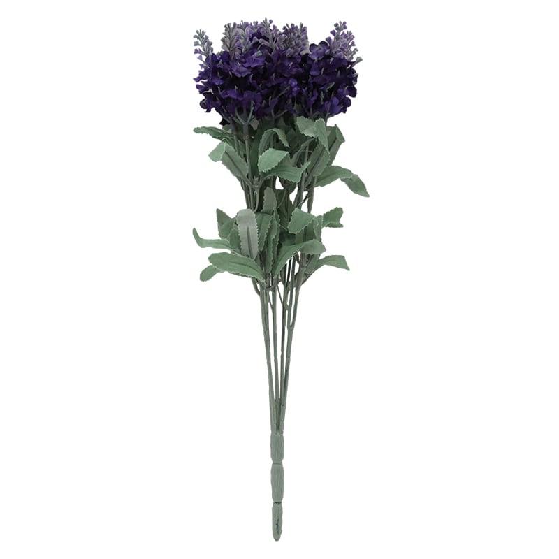Floare Artificiala Lavanda Indigo 33 Cm