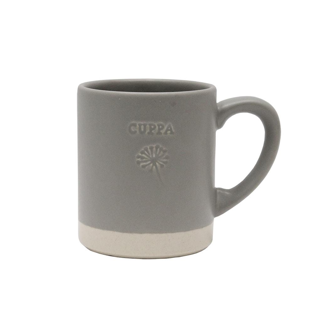 Cana Din Ceramica Gri Cuppa 10 Cm