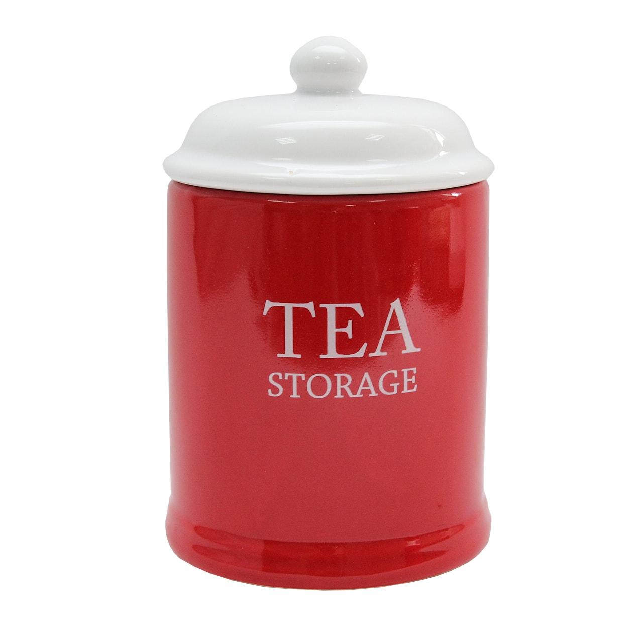 Recipient Cu Capac Din Ceramica Pentru Ceai Diametru 11 Cm