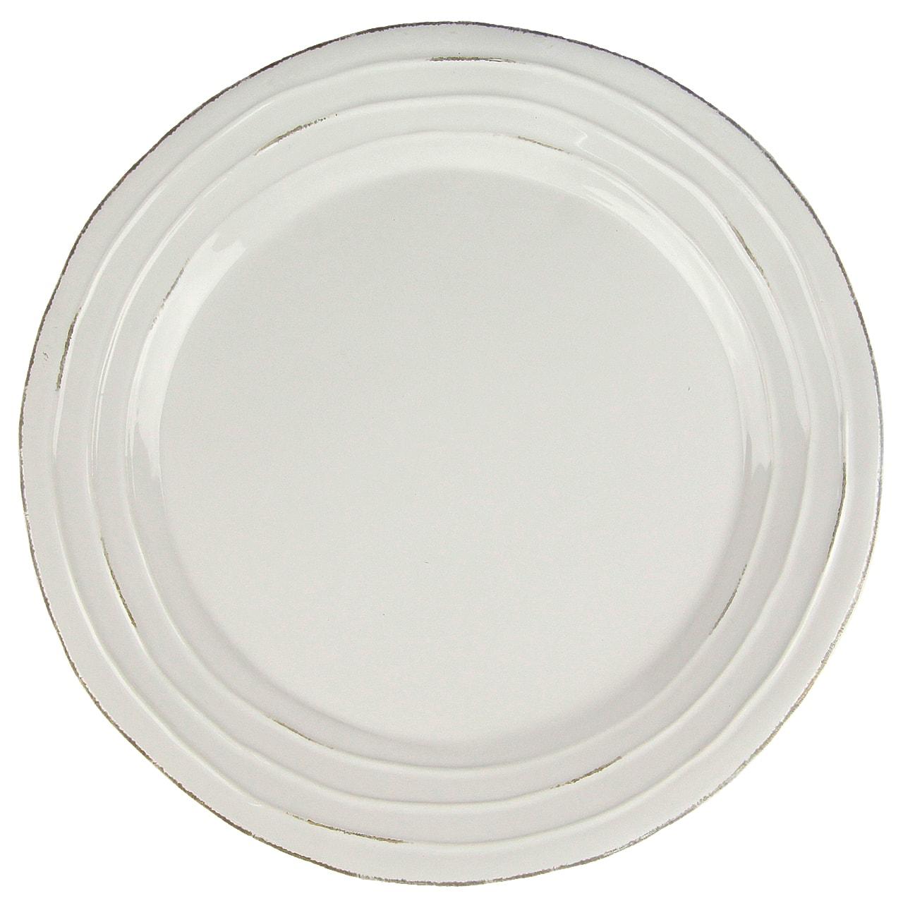 Pachet Cadou 6 Farfurii Din Ceramica Alba