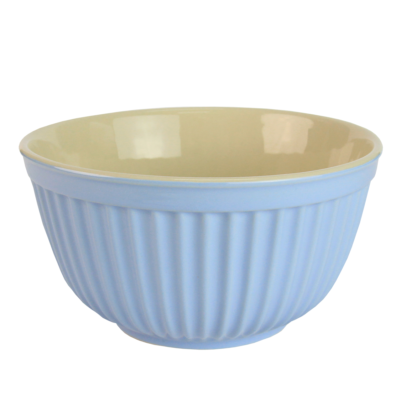 Bol Din Ceramica Albastra 18 Cm