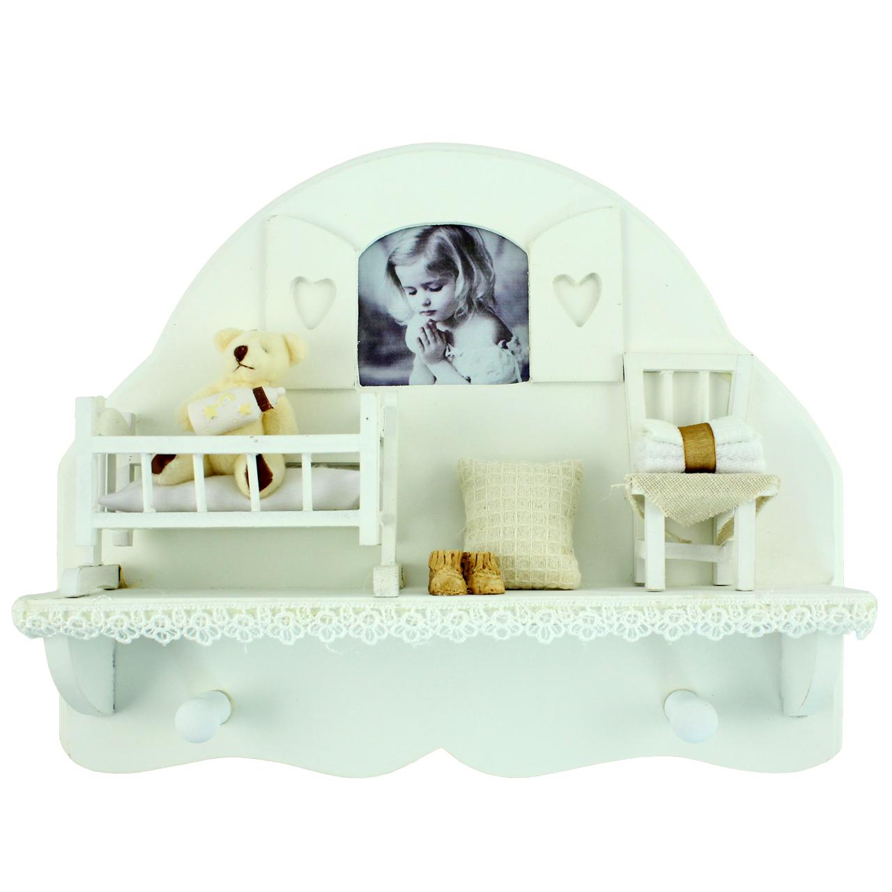 Cuier Decorativ Pentru Bebe Cu Rama Foto