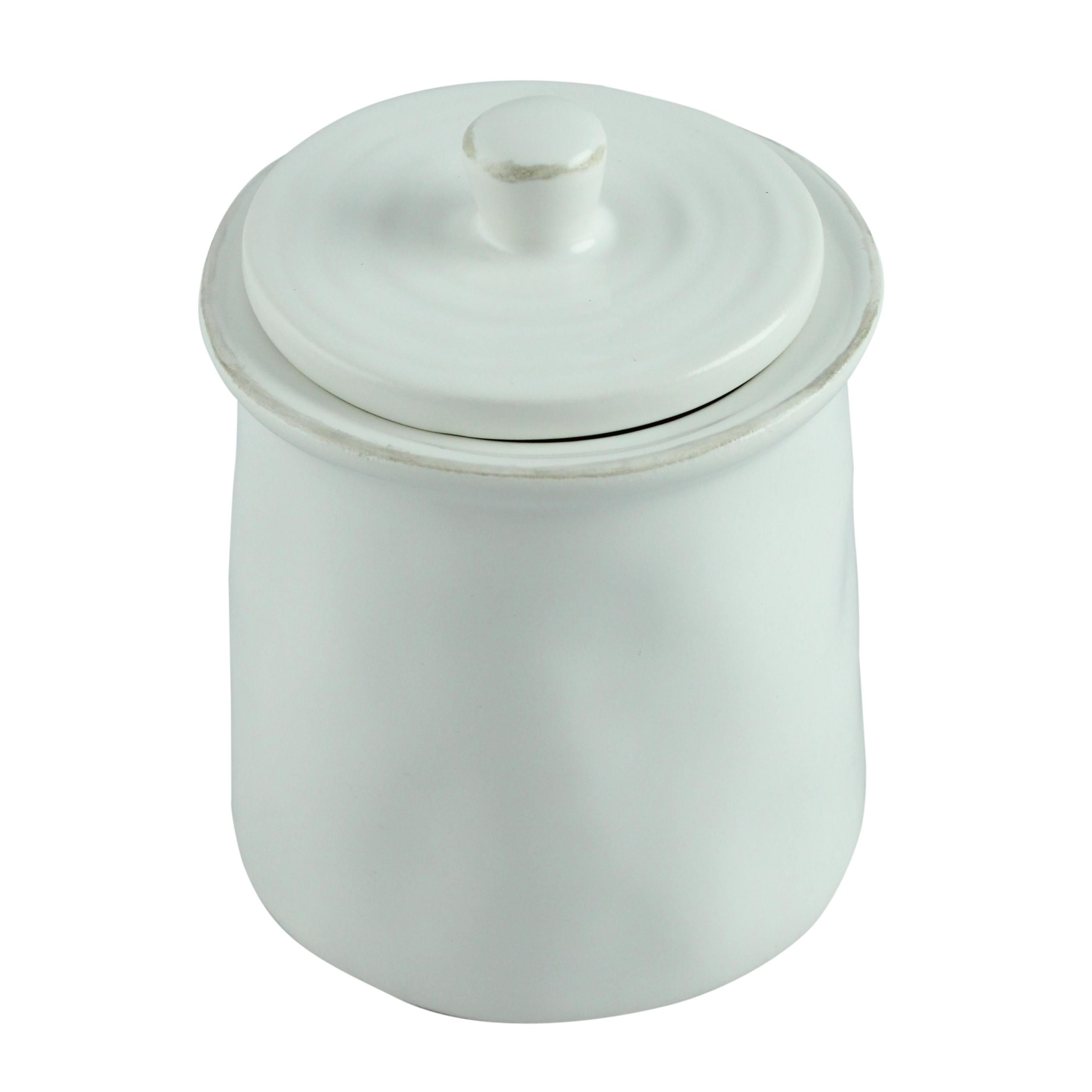 Recipient Pentru Zahar Alb Cu Capac Din Ceramica 6