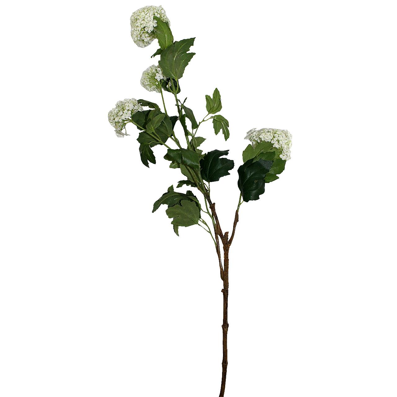Floare Artificiala Minge De Mai Alba 97 Cm