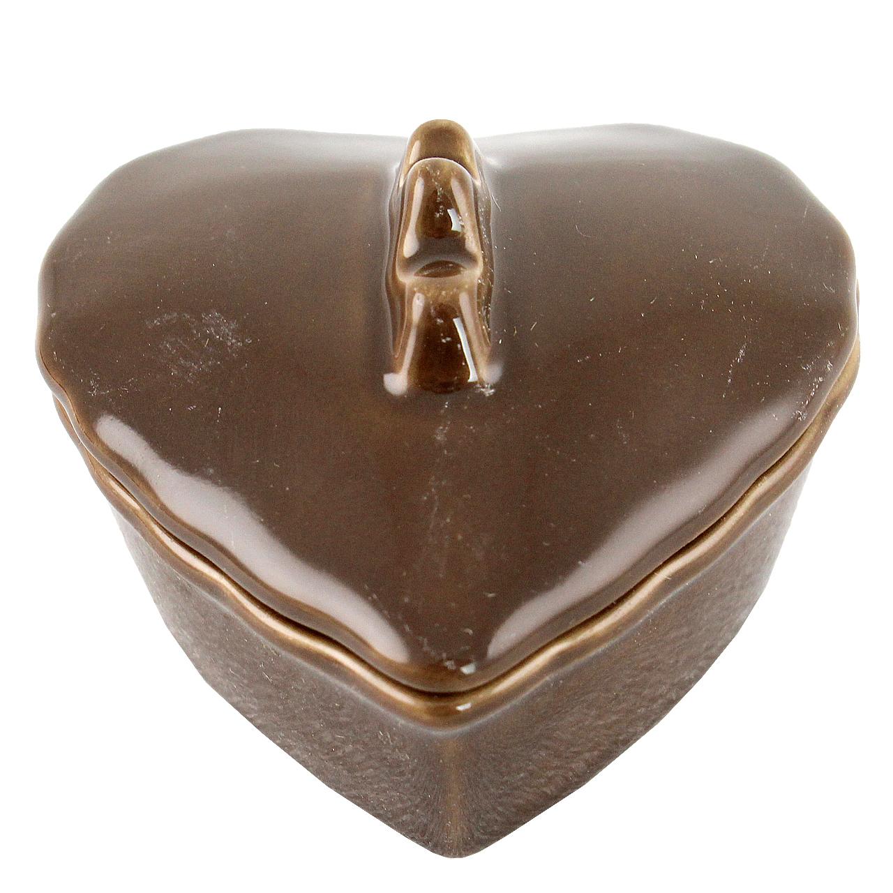 Terina Inima Din Ceramica 7.5 Cm