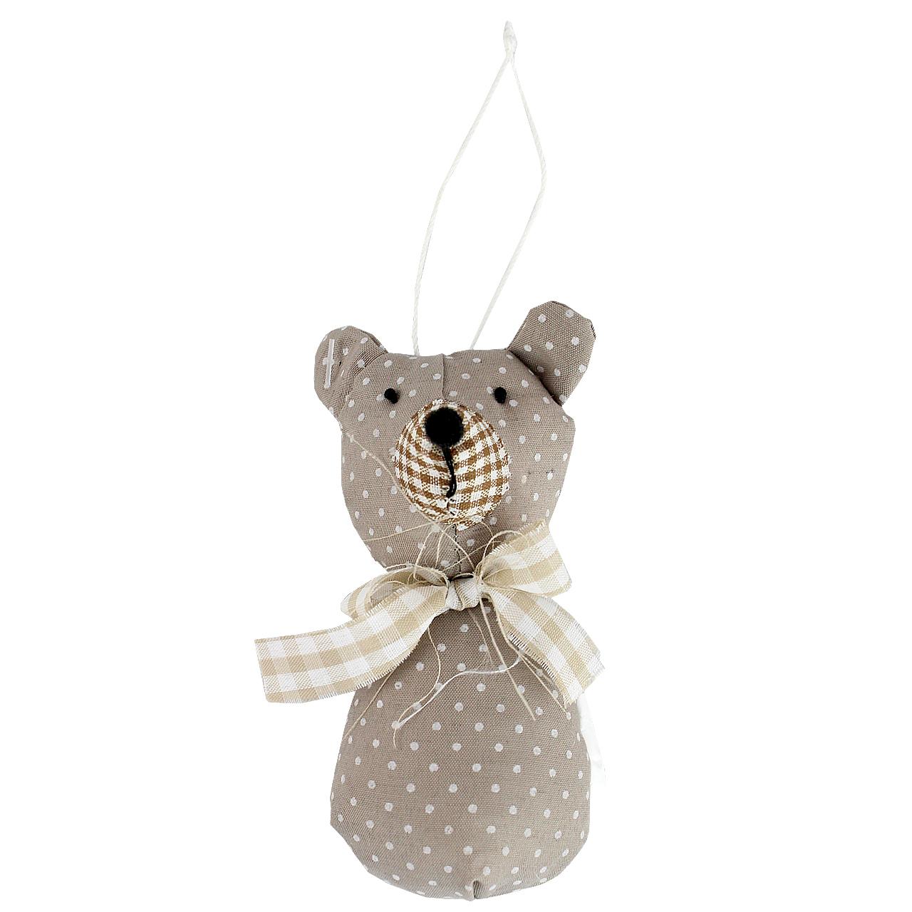 Jucarie Ursulet Din Textil Pepit 12 Cm
