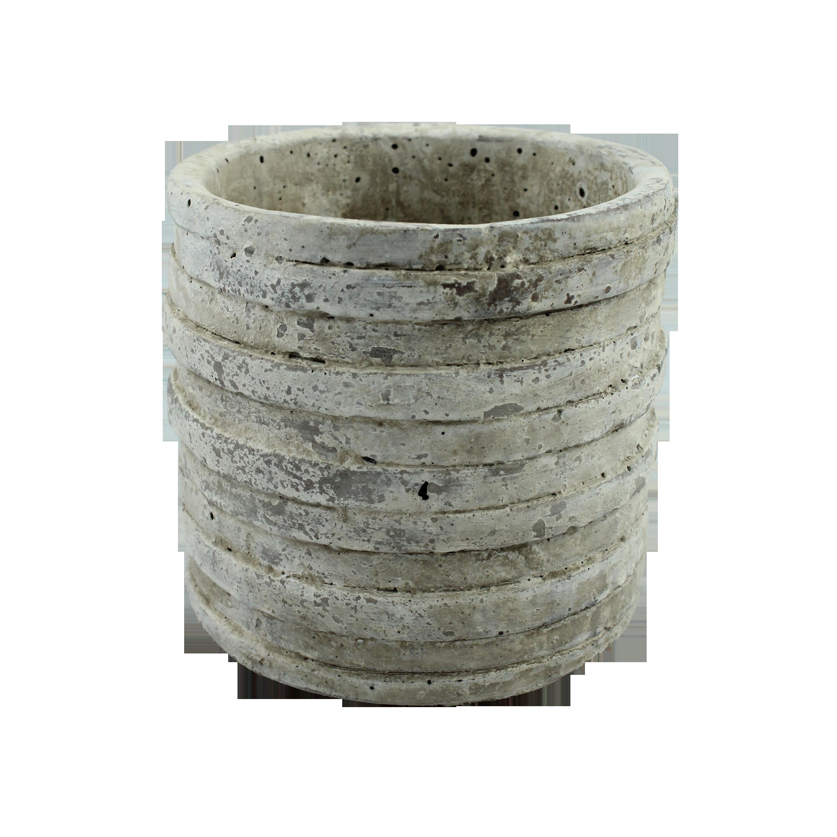 Ghiveci Din Ceramica Gri 15.5 Cm