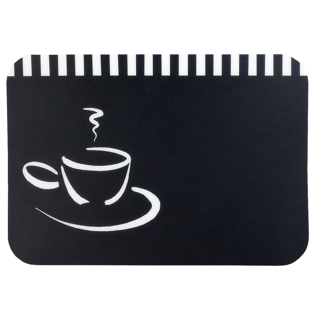 Napron Negru Cu Cafea 40x30 Cm