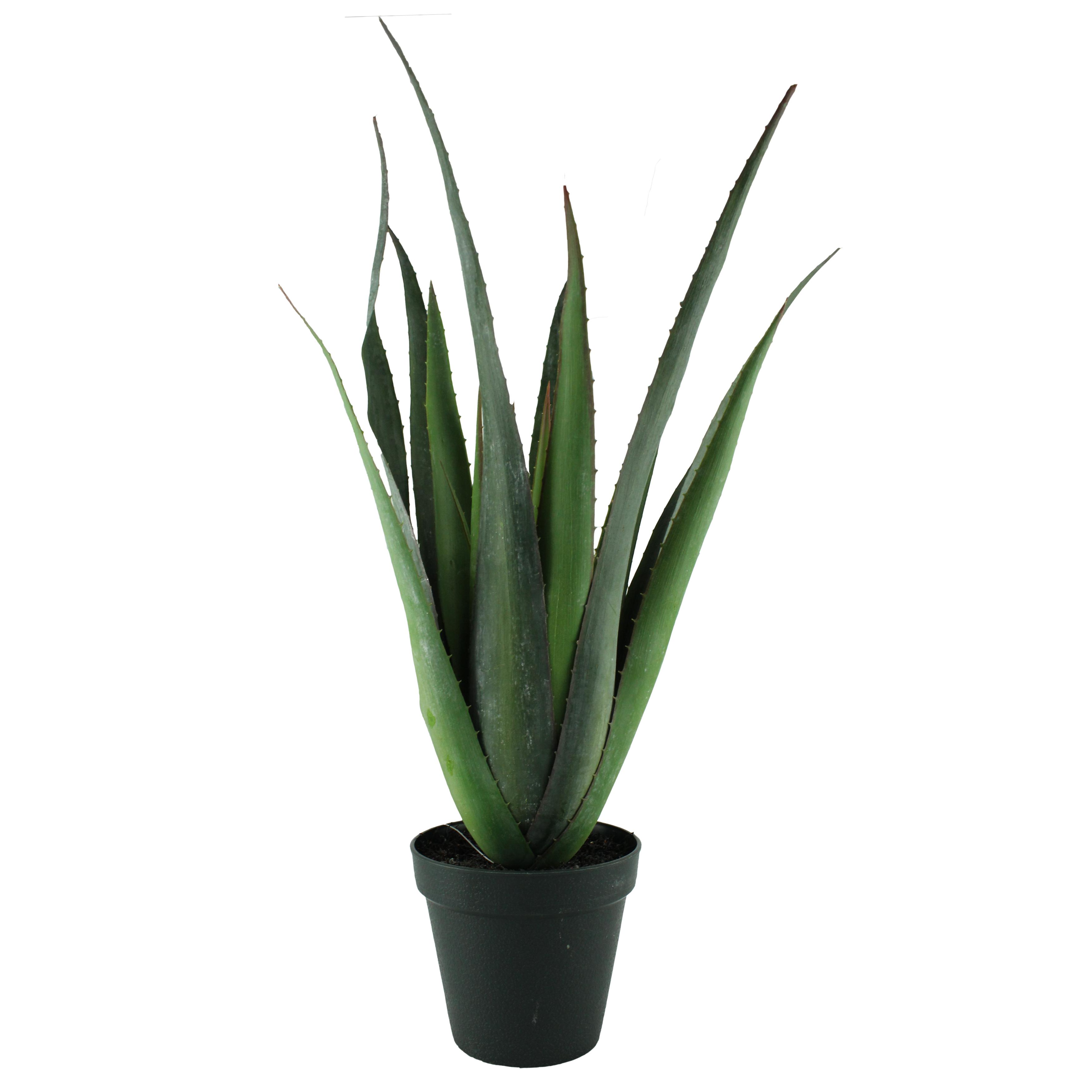 Floare Artificiala Aloe Vera In Ghiveci 57 Cm