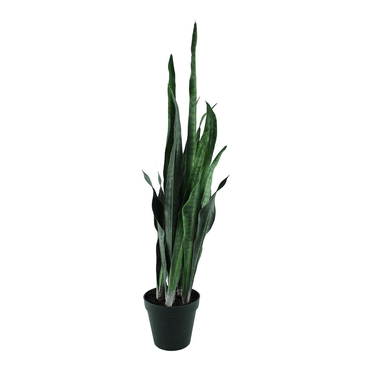Floare Artificiala Limba Soacrei In Ghiveci 76 Cm