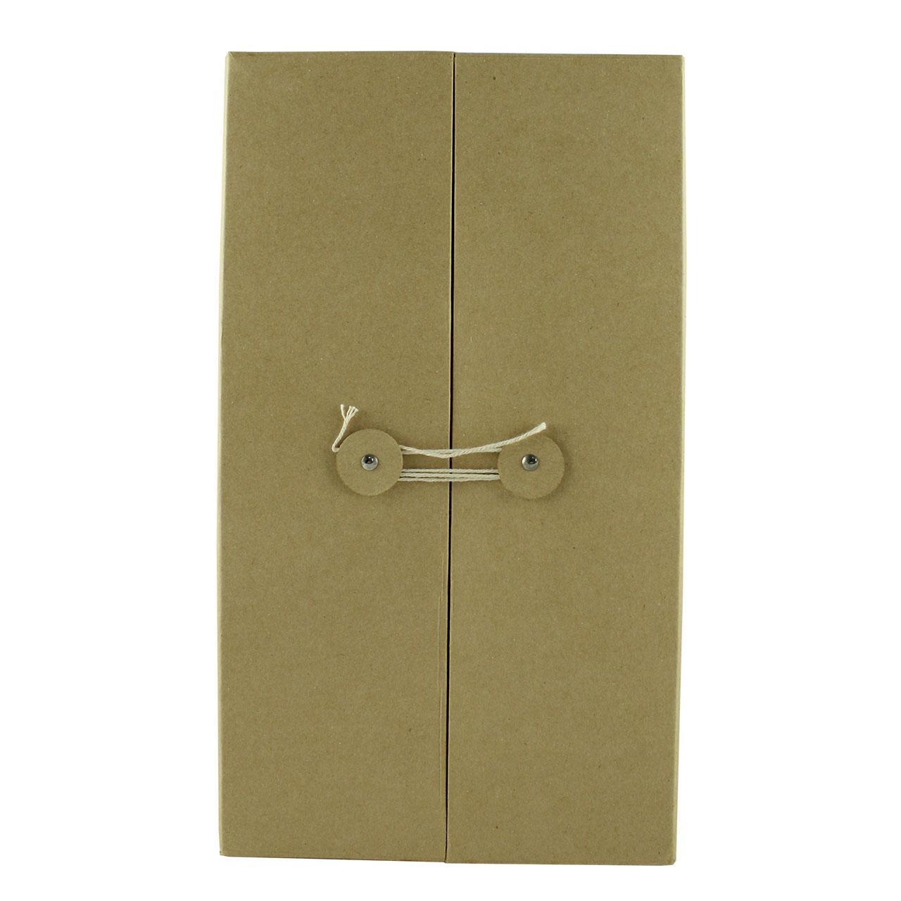 Cutie De Cadou Din Carton Ocru 31 Cm
