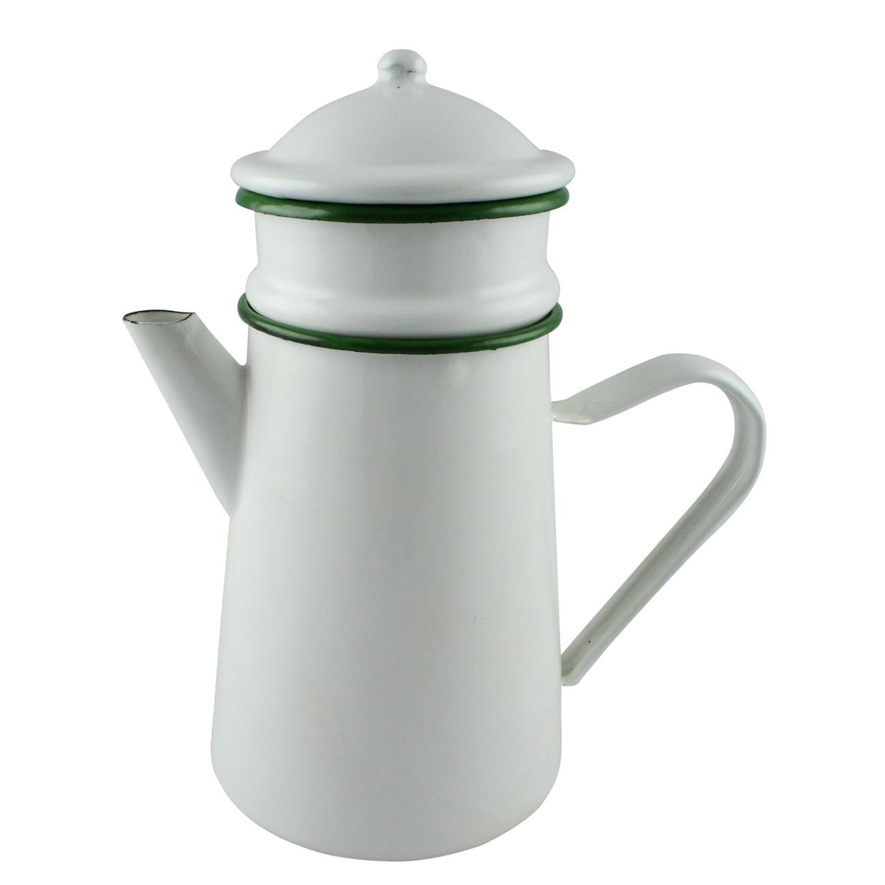 Filtru Pentru Cafea Din Metal Alb 26 Cm