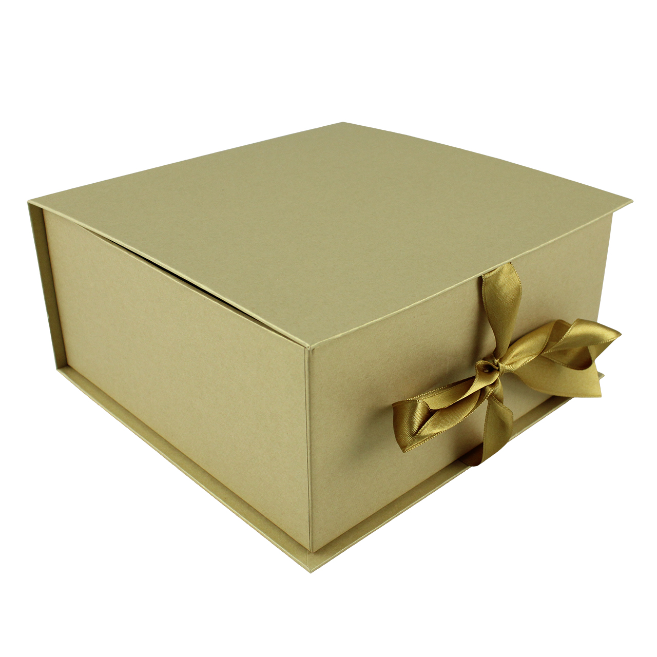 Cutie De Cadou Din Carton Auriu Si Funda Aurie