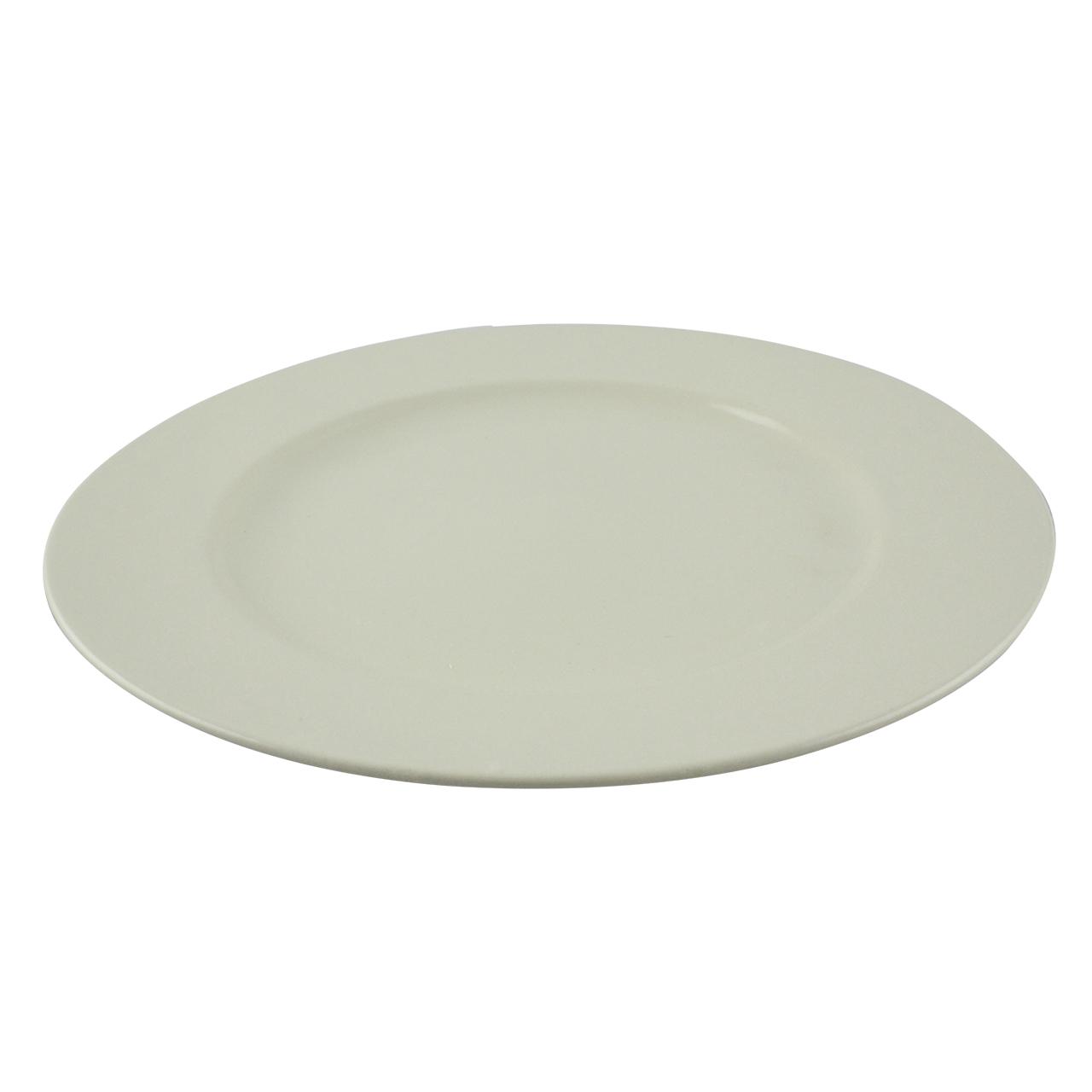 Platou Din Ceramica Alba 30 Cm