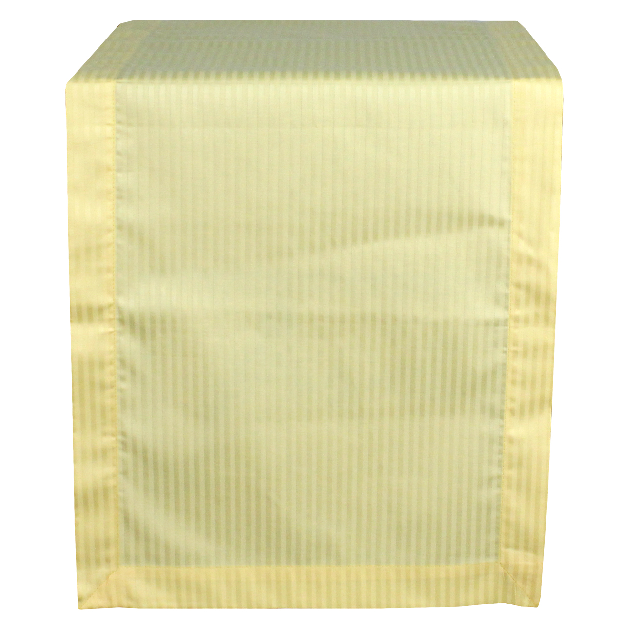 Runner Din Textil Galben Cu Dungi Late 140x40 Cm
