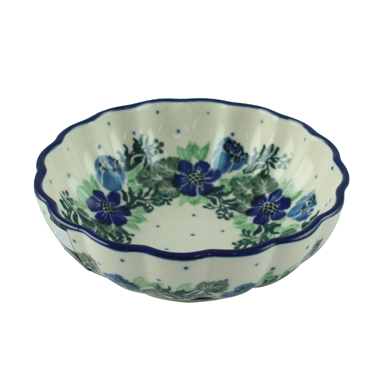 Bol Din Ceramica Cu Flori 12 Cm