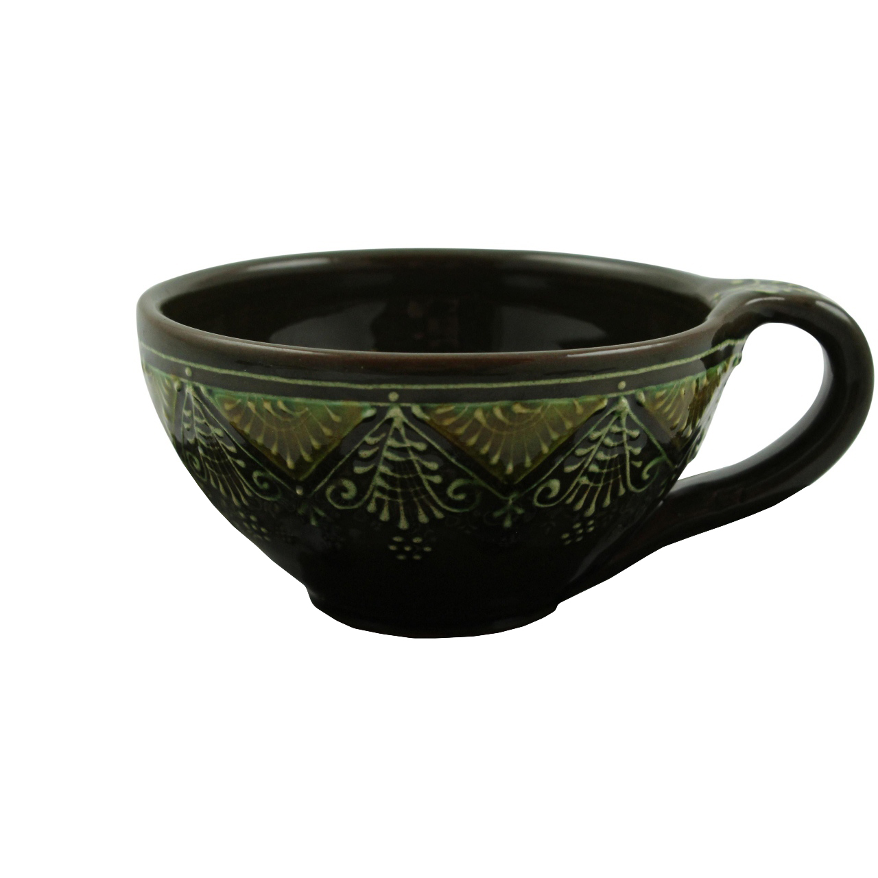 Ceasca Traditionala Din Ceramica Oliv