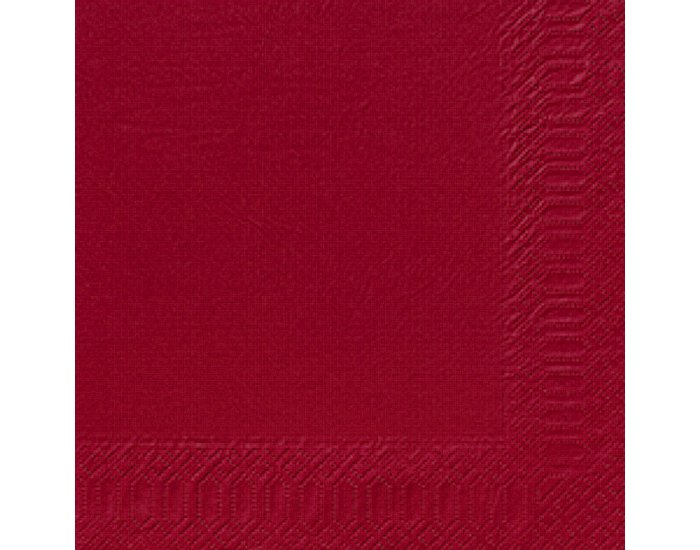 Servetele Decorative Din Hartie Rosie 33 Cm