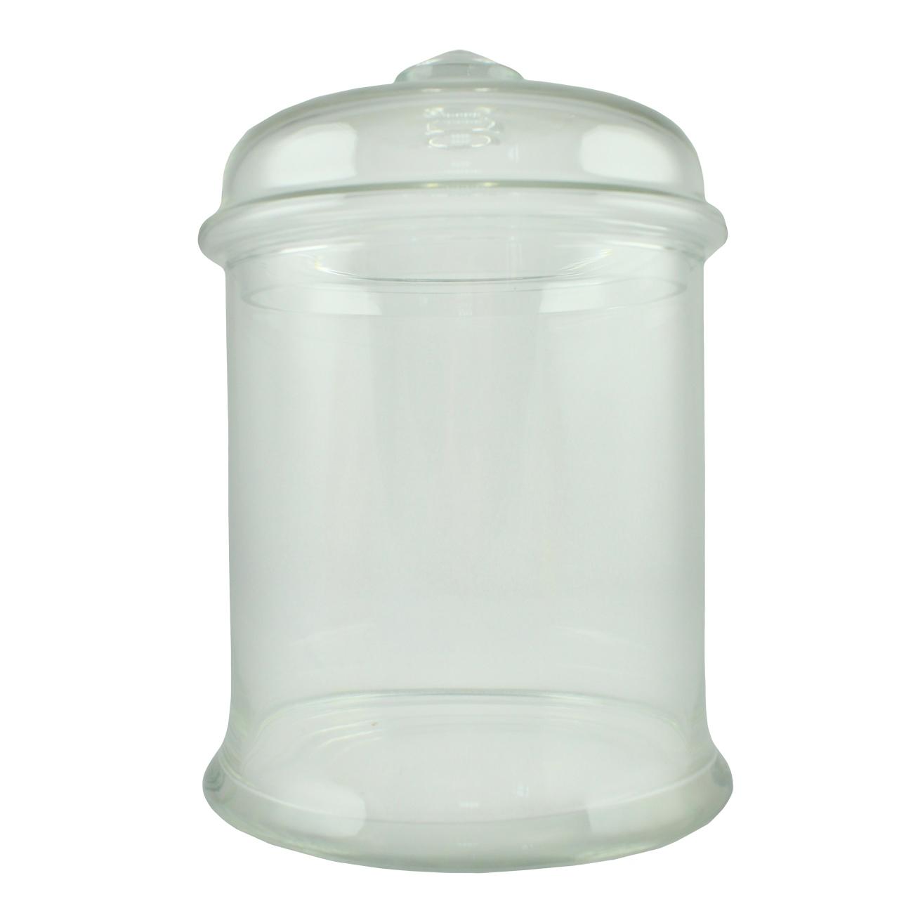 Recipient Cu Capac Din Sticla 15.5 Cm