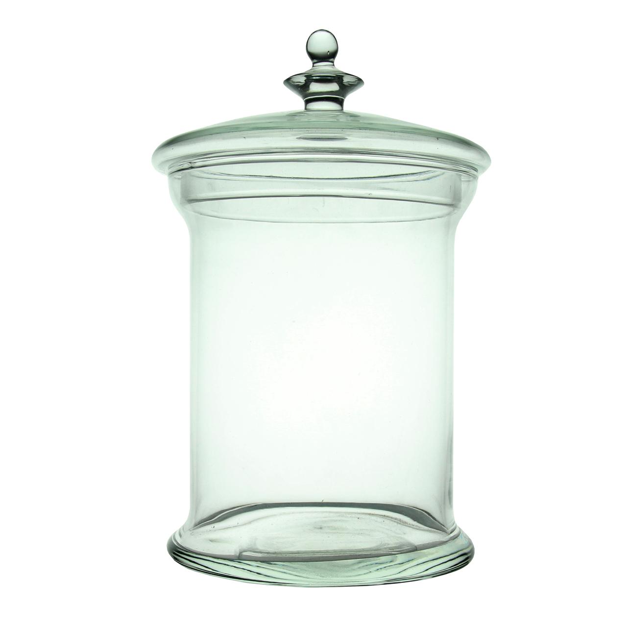 Recipient Cu Capac Din Sticla 30 Cm