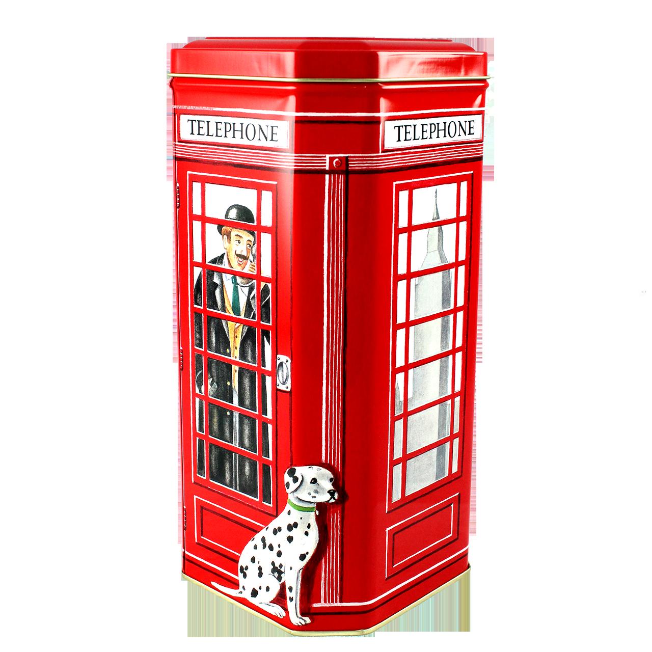 Cutie Decorativa Din Metal Cabina Telefonica 10x10