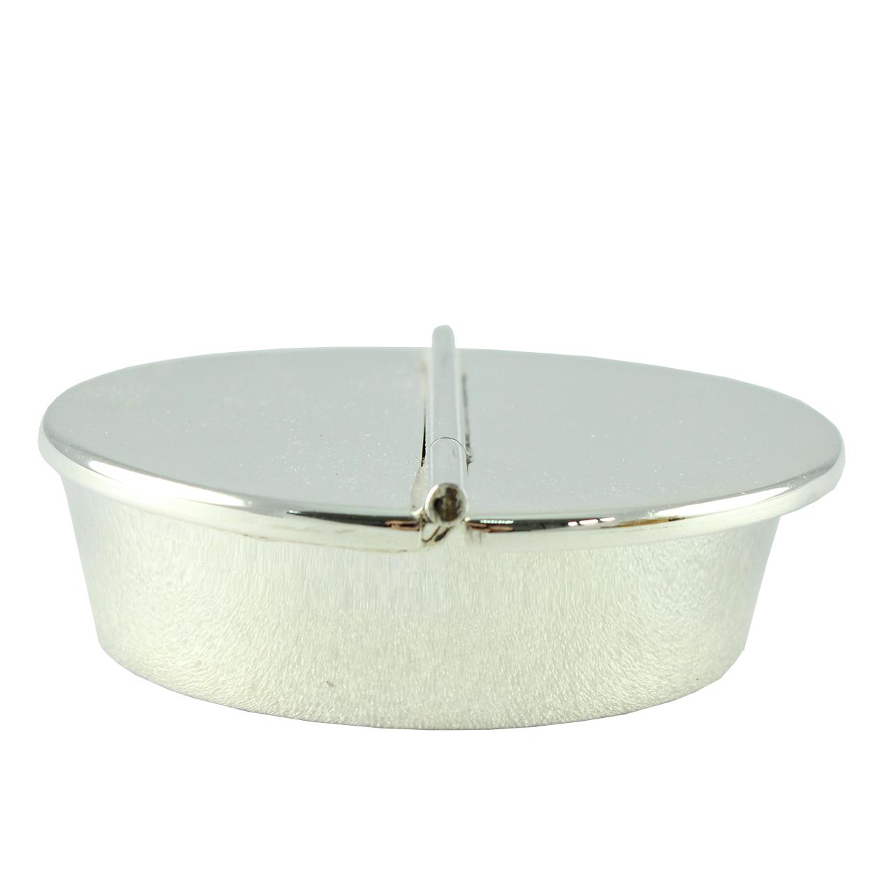 Scrumiera Rotunda Din Inox 10 Cm