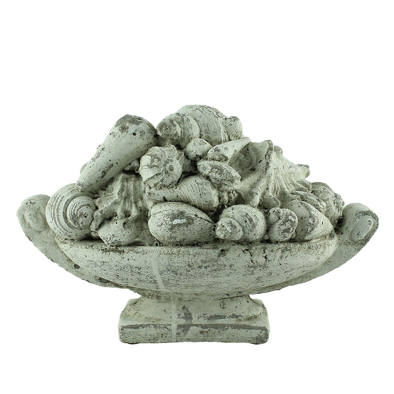 Statueta Cos Cu Scoici Din Teracota