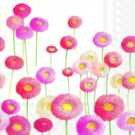 Servetele Decorative Din Hartie Cu Crizanteme 33 C