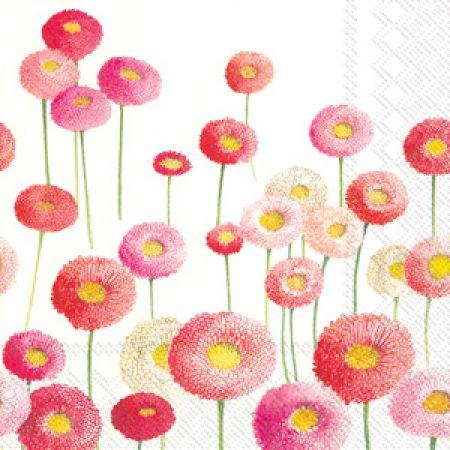 Servetele Decorative Din Hartie Cu Crizanteme 25 C