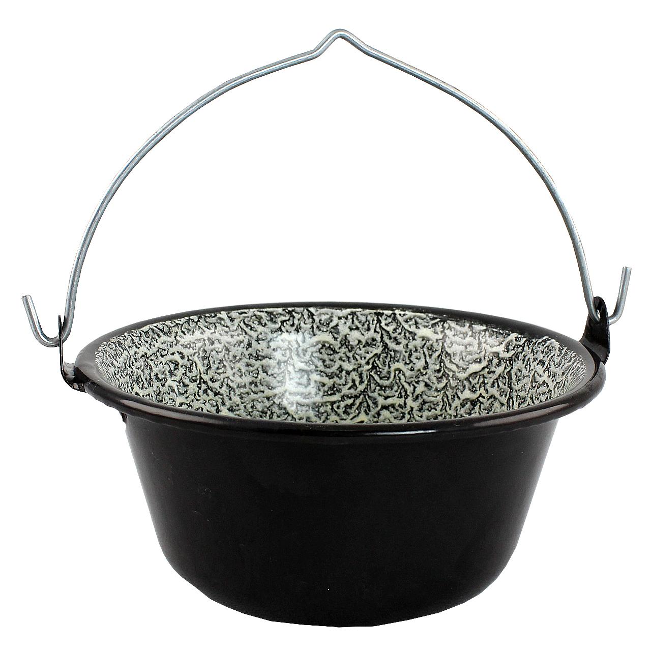 Ceaun Din Metal Negru