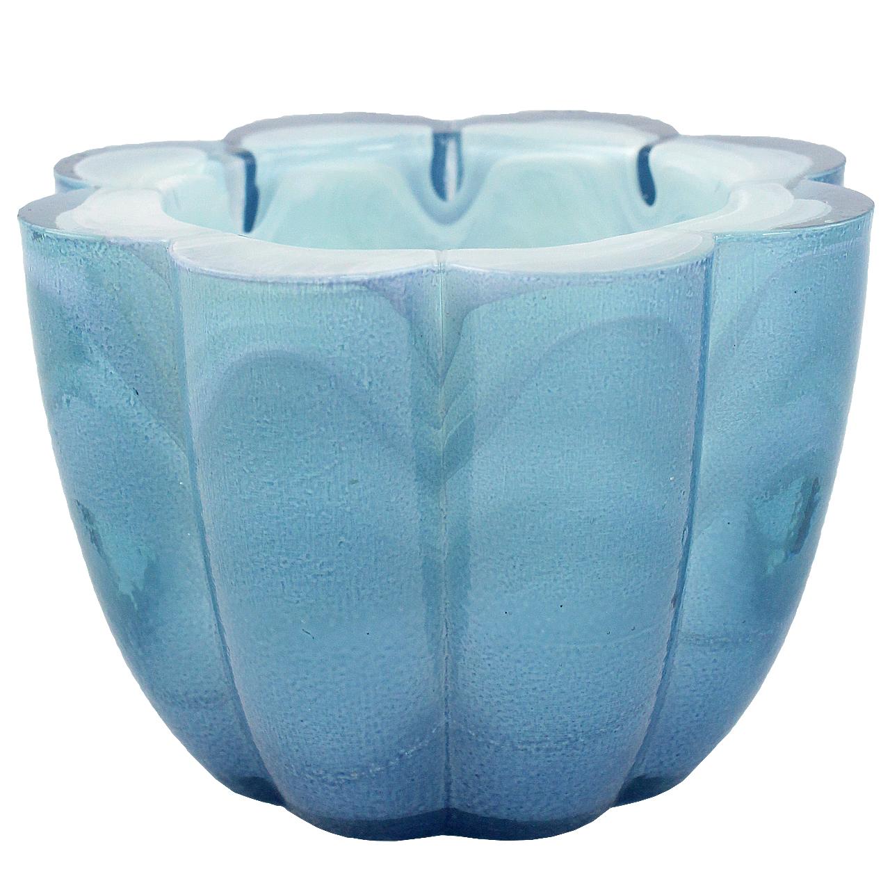 Candela Marble Flower Blue