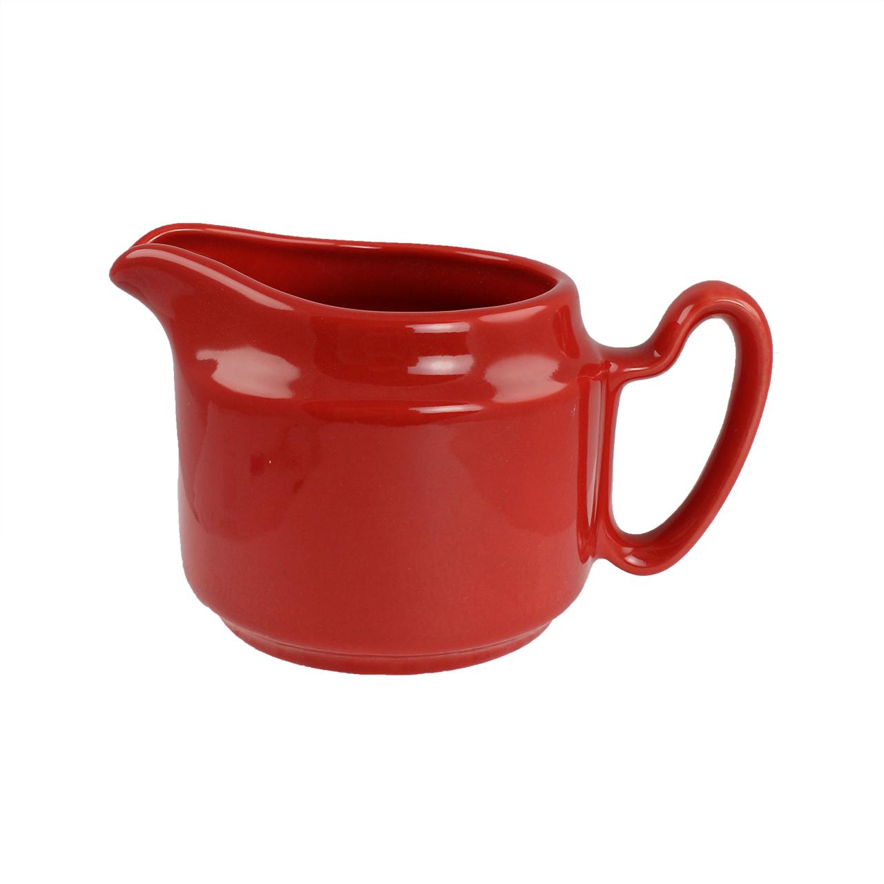 Sosiera Din Ceramica Rosie 10 Cm