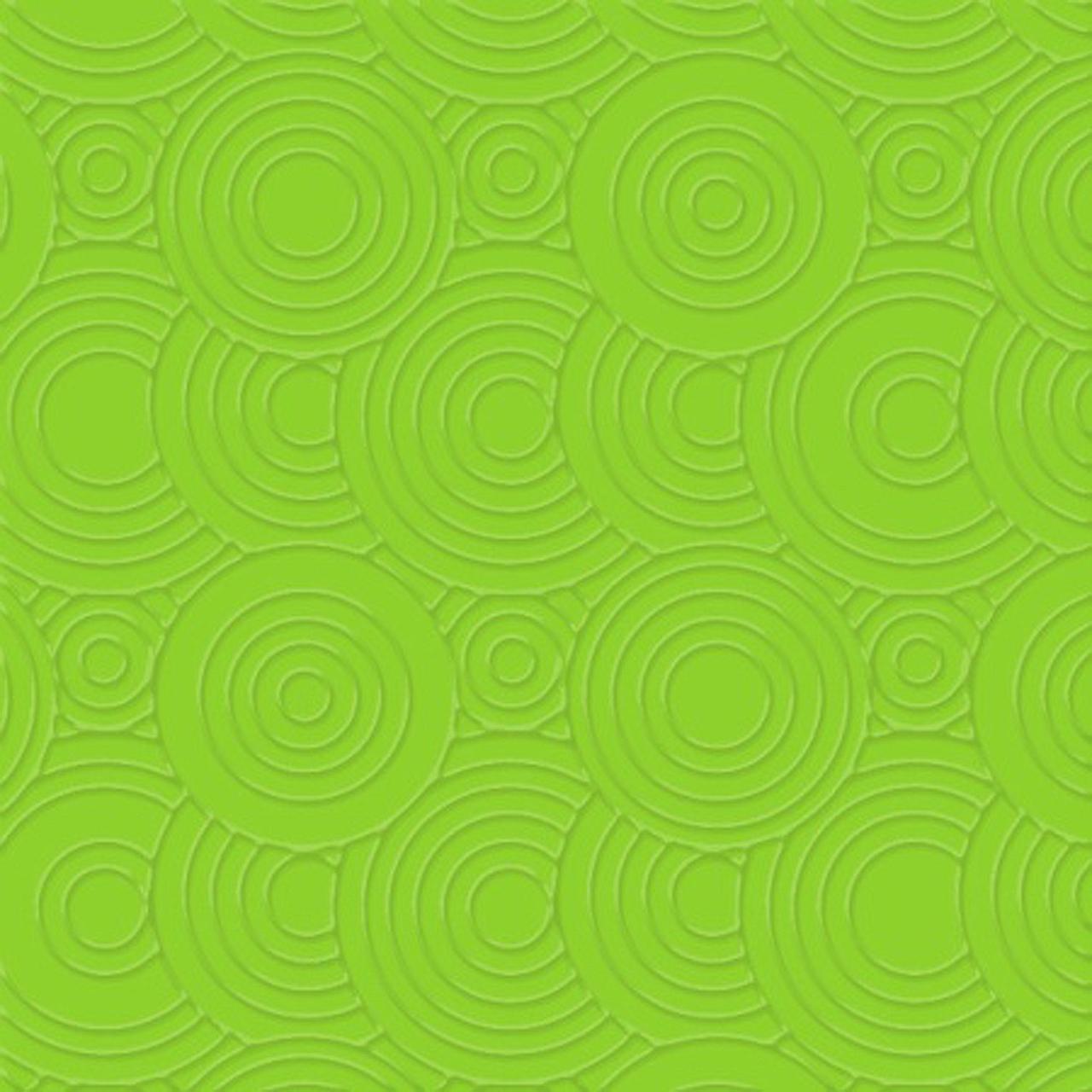 Servetele Decorative Din Hartie Verde Cu Cercuri 2