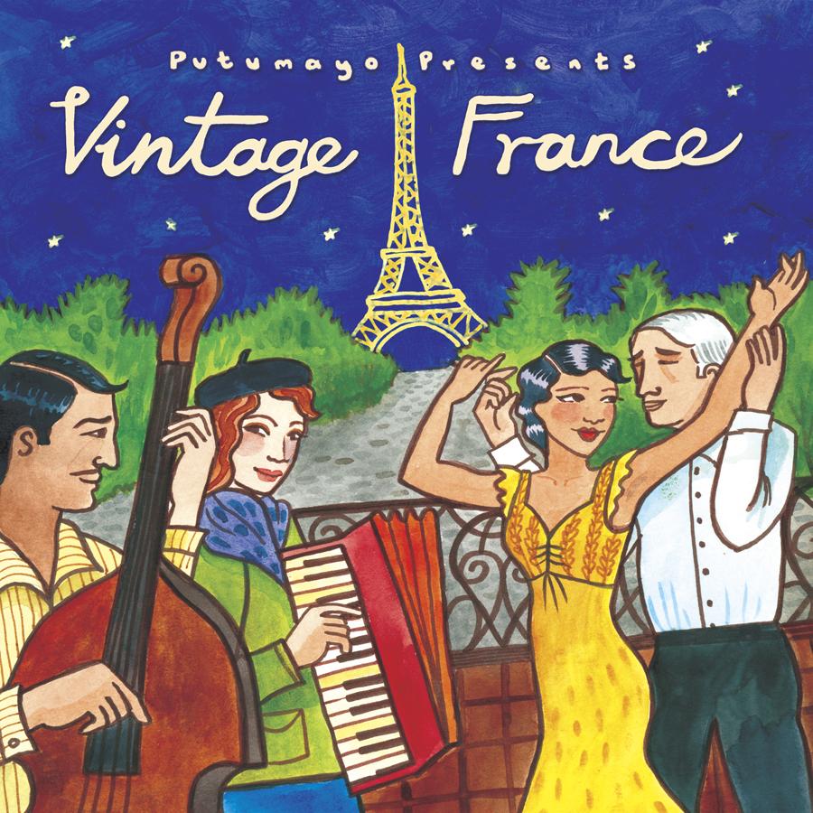 Cd Putumayo - Vintage France