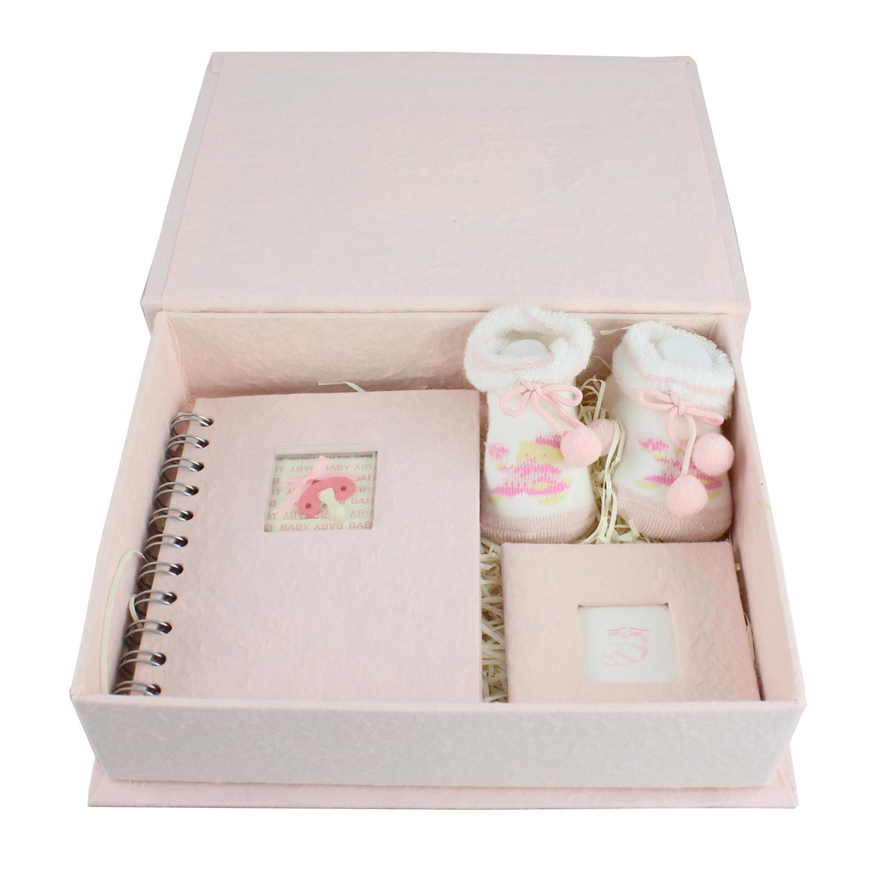 Set Trusou Roz Pentru Bebe