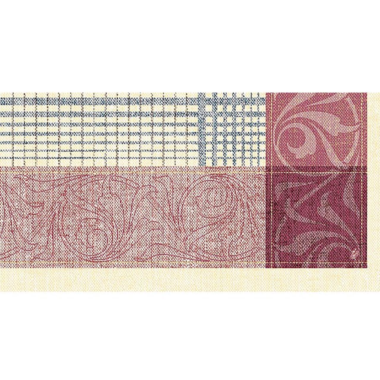Pachet De Naproane Din Hartie Burgundy 84x84 Cm