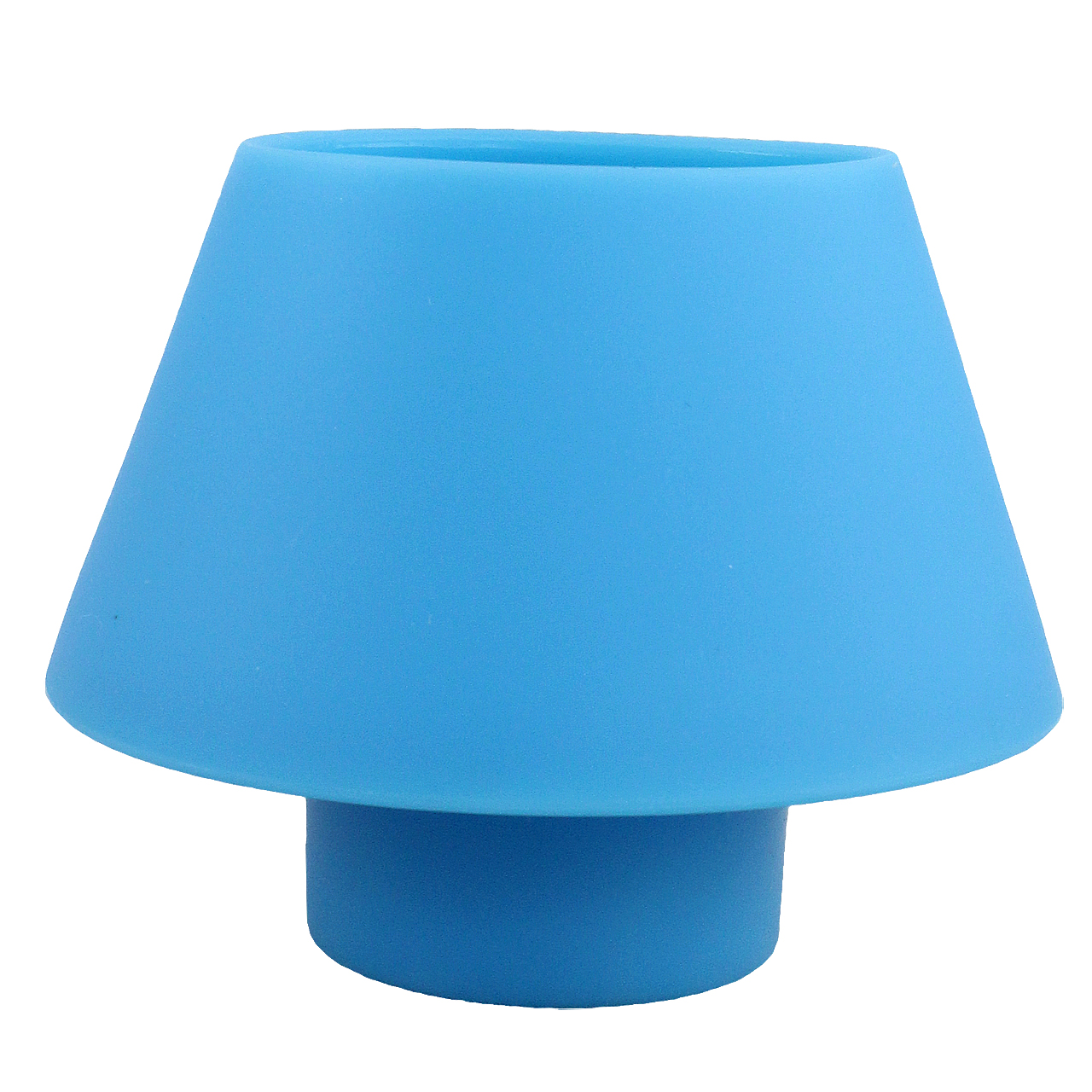 Candela Din Silicon Albastru