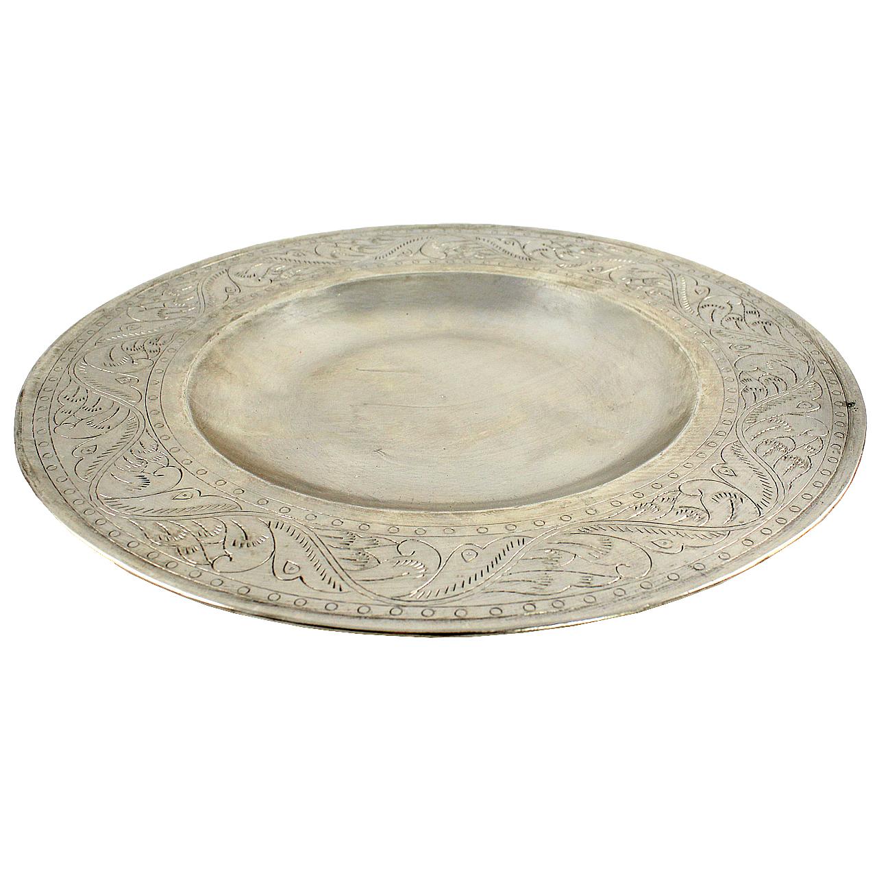 Tava Rotunda Din Metal 27 Cm