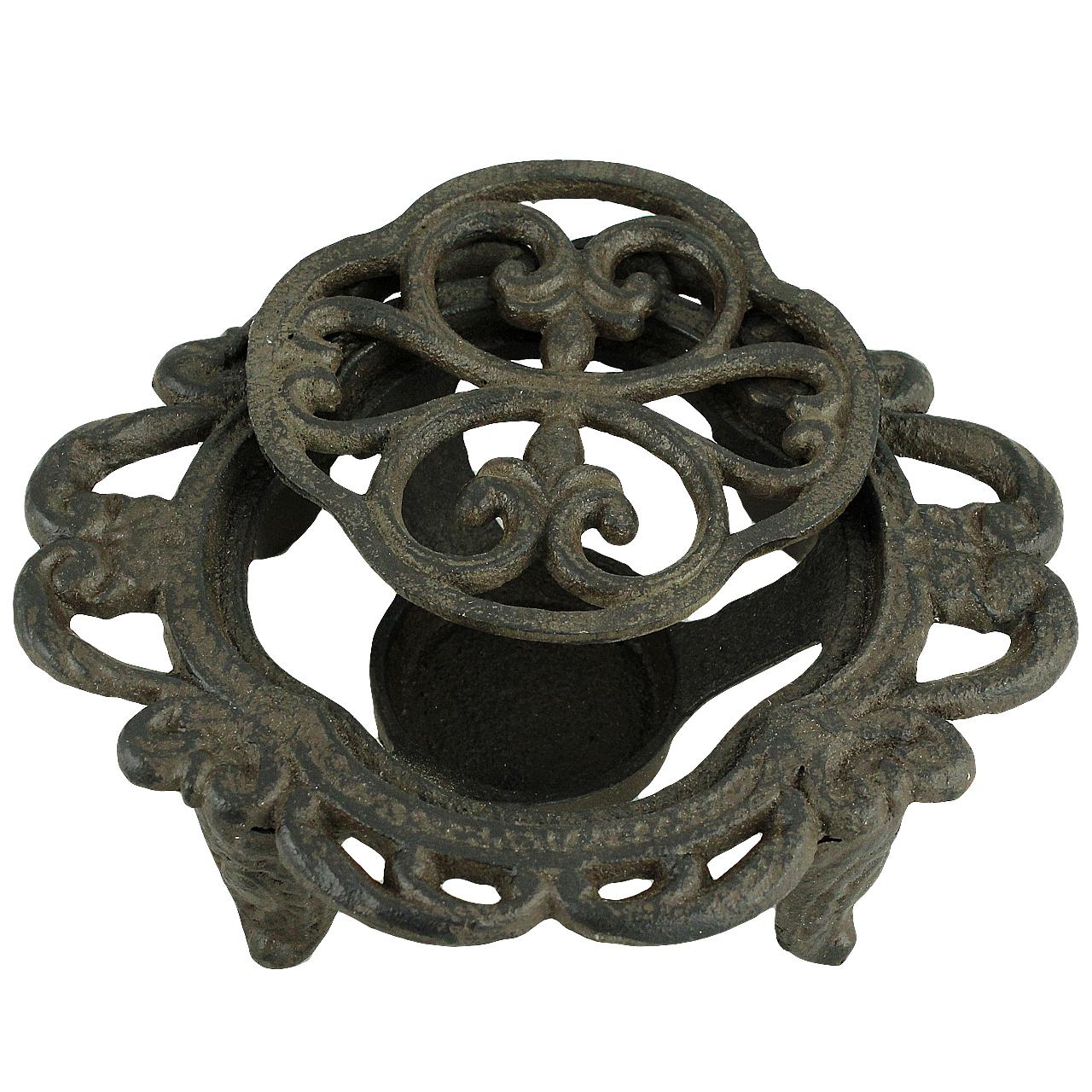 Suport Pentru Vase Fierbinti Din Metal Maro 16 Cm