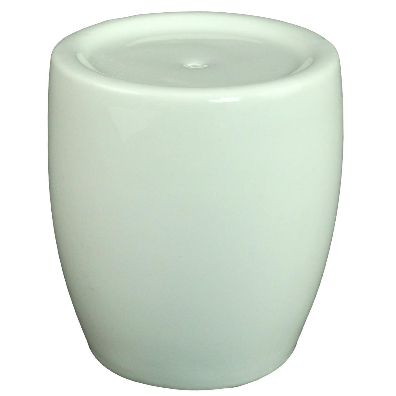 Solnita Din Ceramica Alba 7 Cm
