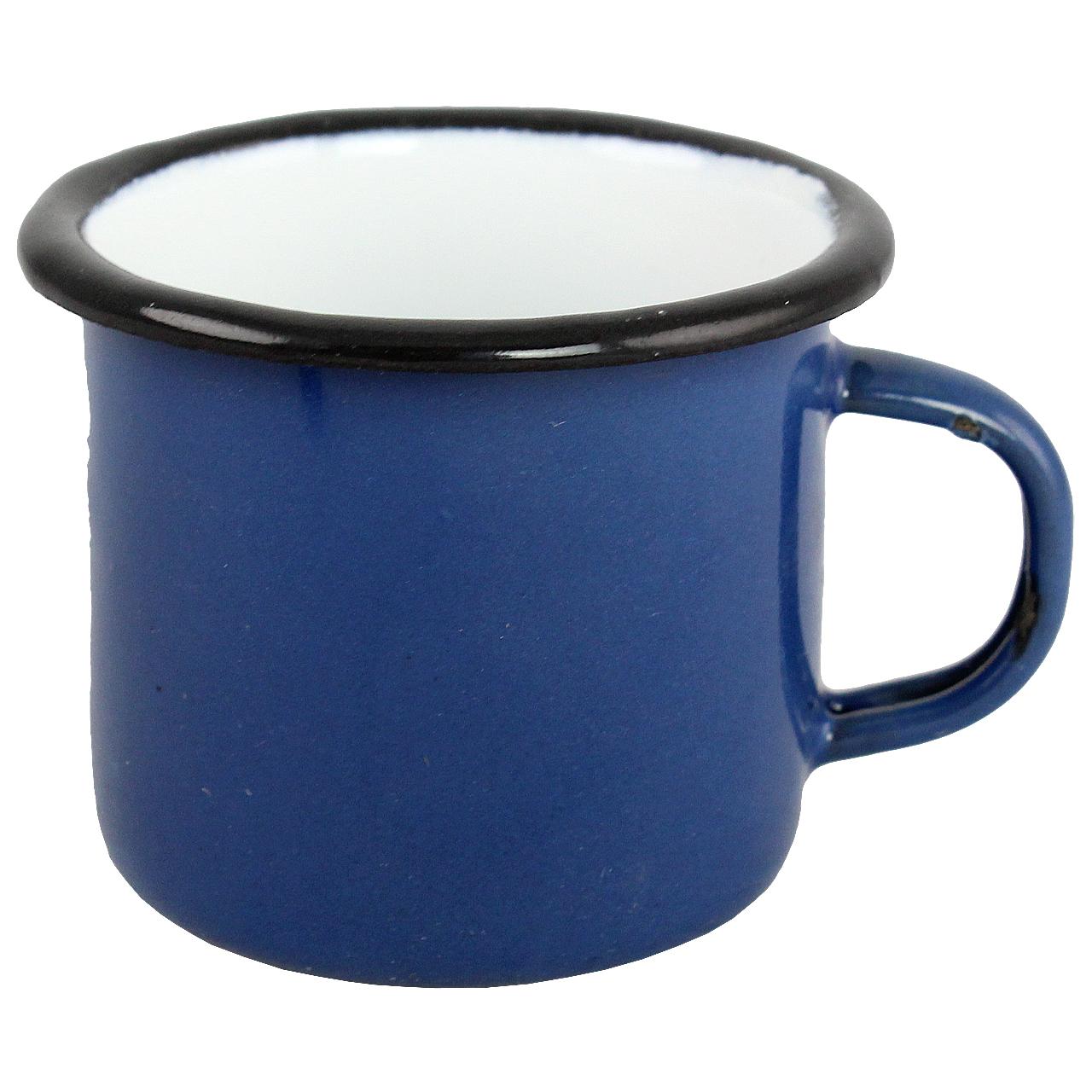 Canita Din Metal Albastru 5 Cm