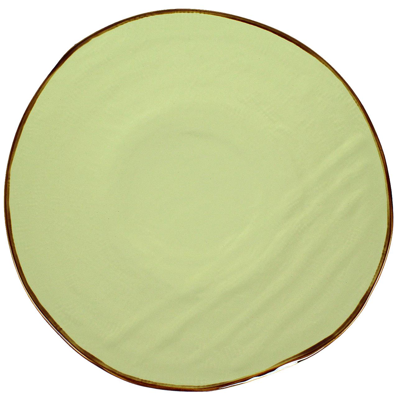 Farfurie Intinsa Din Ceramica Verde