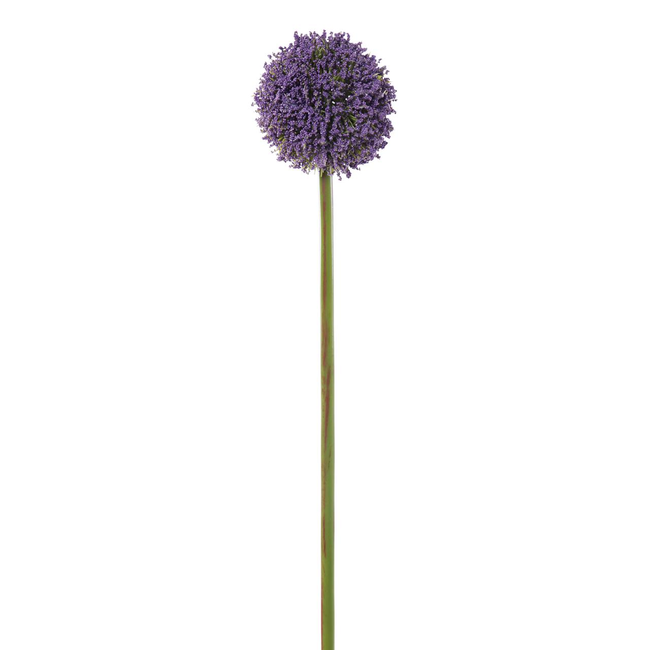 Floare Artificiala Allium Mov 70 Cm