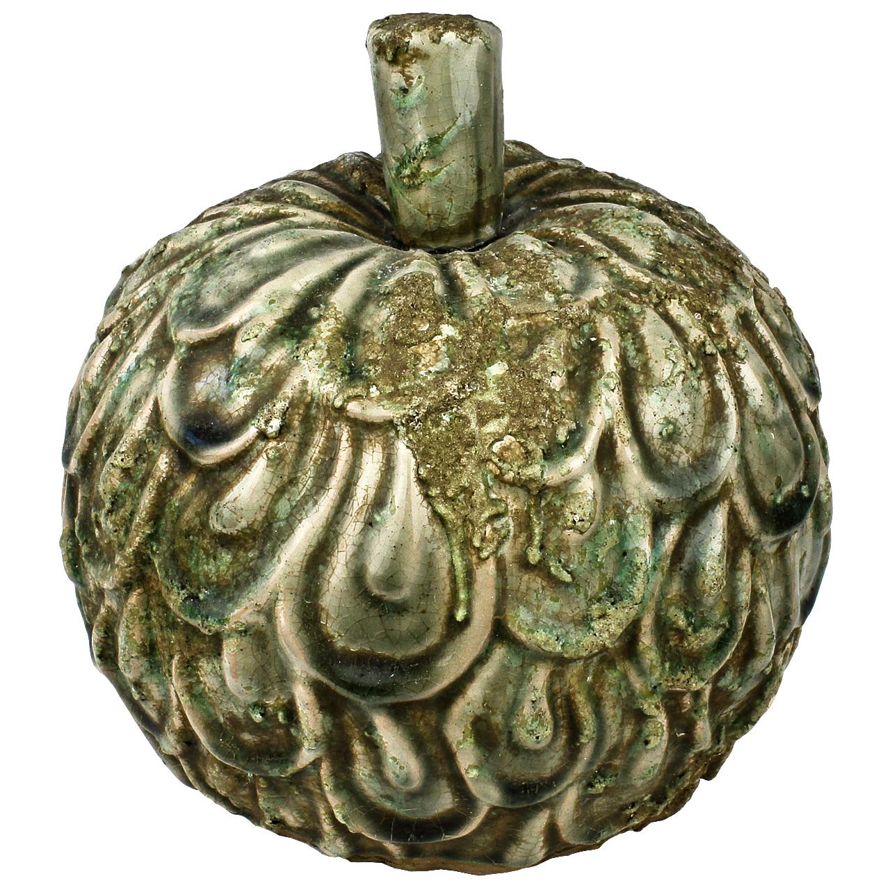 Statueta Mar Din Ceramica Verde 20 Cm