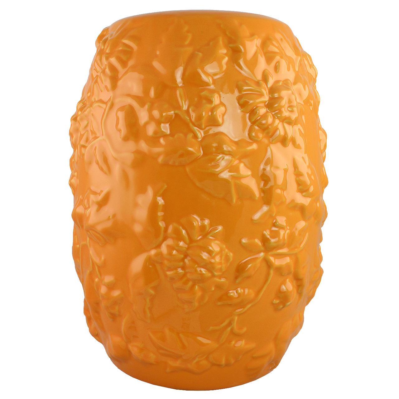 Vaza Din Ceramica Portocalie