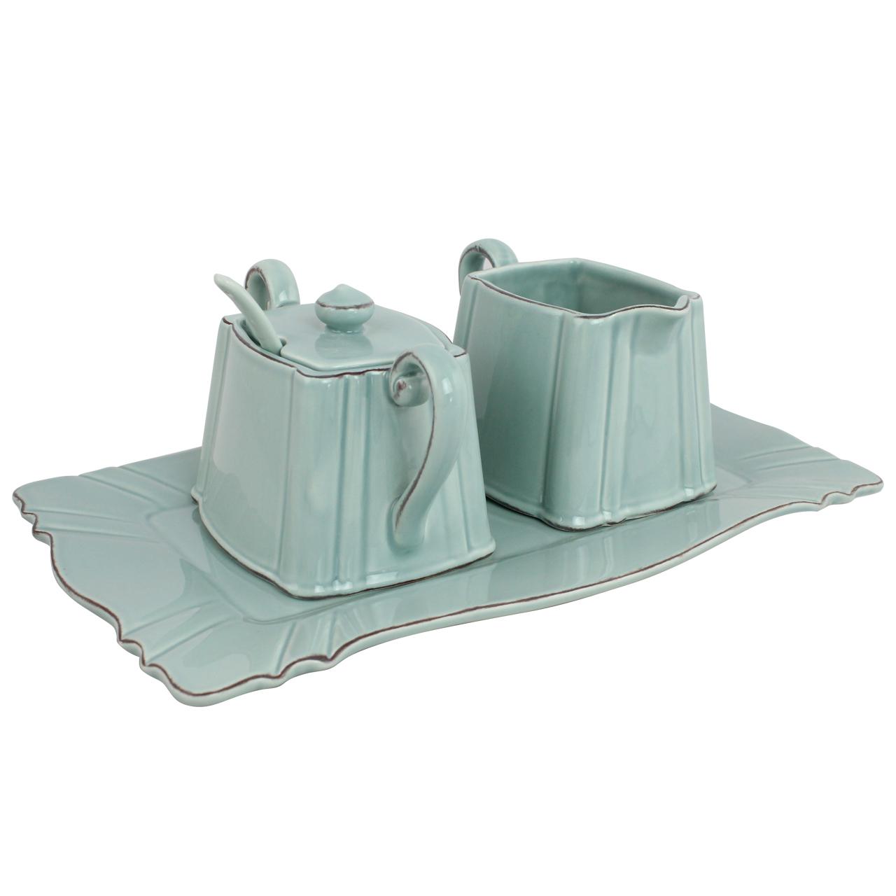 Set Cu Tava Si 2 Recipienti Din Ceramica Vernil