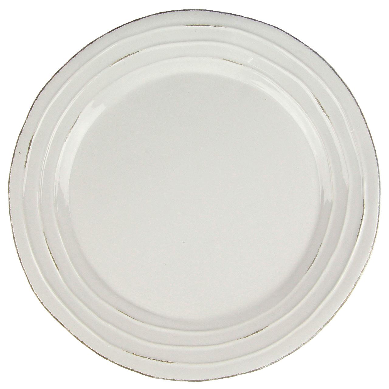Farfurie Din Ceramica Alba