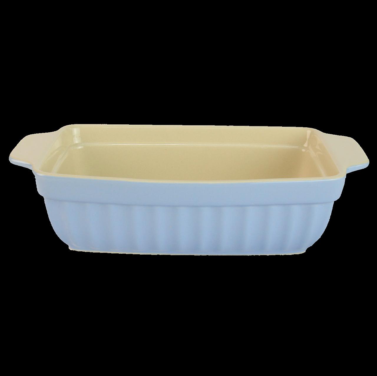 Tava Pentru Paine Din Ceramica Albastra
