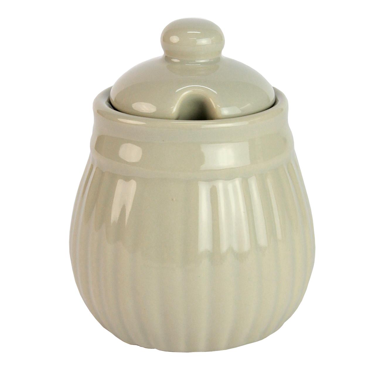 Recipient Pentru Zahar Din Ceramica Gri